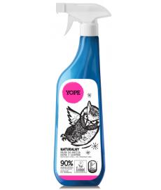 Naturalny płyn do mycia szyb i luster 750 ml/ YOPE