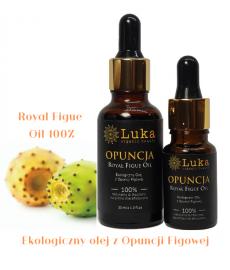 OPUNCJA FIGOWA (Opuntia ficus-indica) Ekologiczny Olej 10ml  LUKA Organic Beauty ROYAL FIGUE
