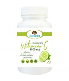 Buforowana Witamina C 1000 mg z dziką różą i cytrusowymi bioflawonoidami 200 tabletek Planet Health
