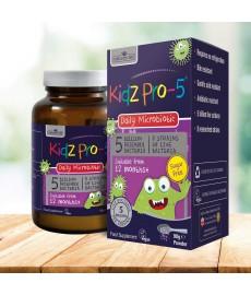 Kidz PRO 5 Dla Dzieci Probiotyk 90g (5 miliardów, 8 szczepów) Nature's Aid