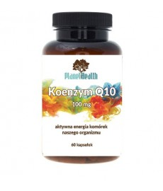 Koenzym Q10 Ubichinon 100 mg Planet Health