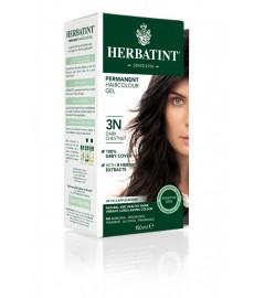 Farba do włosów Herbatint 3N CIEMNY KASZTAN seria NATURALNA  Antica Erboristeria