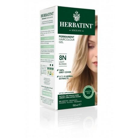 Farba do włosów Herbatint 8N JASNY BLOND seria NATURALNA  Antica Erboristeria