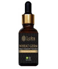 WHEAT GERM  ekologiczy olej z Kiełków Pszenicy (Wheat Germ Oil , USA) LUKA Organic Cosmetics