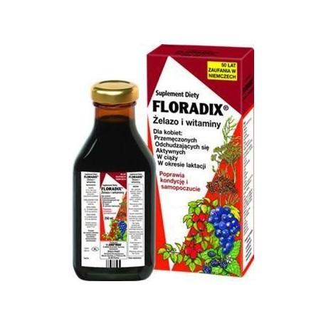 FLORADIX Żelazo i witaminy w płynie/ 250 ml