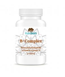 B-Complex (kompleks witamin z grupy B) 90 tabl. Planet Health