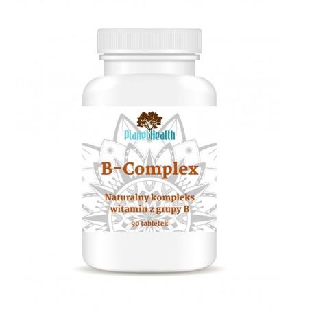Stres B-Complex (kompleks witamin z grupy B) 90 tabl. Planet Health