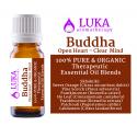Buddha Open Heart - Clear Mind - 100% Pure & Organic LUKA aromatherapy