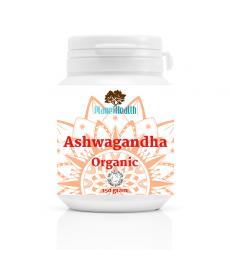 BIO ASHWAGANDHA Organic Power  (Withania Somnifera) proszek 150 g Planet Organic