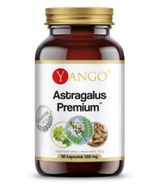 Astragalus Premium Ekstrakt z korzenia traganka (Astragalus Membranaceus) - 90 kaps. Yango