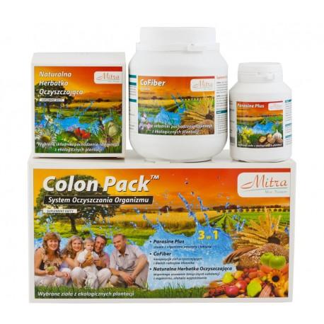 Colon Pack - ziołowy system Oczyszczania Organizmu Mitra