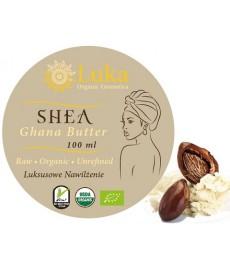Shea Butter Raw (Karite) organiczne masło 100 ml Luka Organic Cosmetics