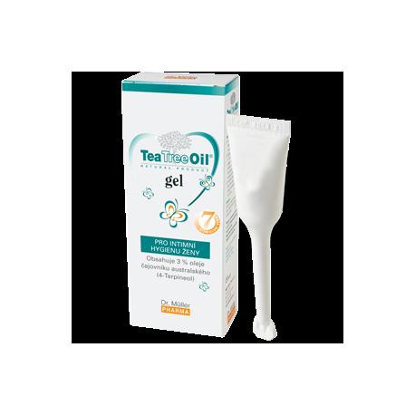 Żel do higieny intymnej z olejkiem z drzewa herbacianego 7 x 7,5 ml Dr Muller Pharma