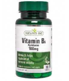 Witamina B6 100mg  100 tabl.  Nature's Aid
